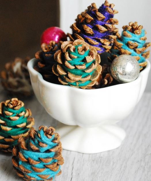 pinecones yarn