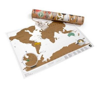 travel- scratch off map