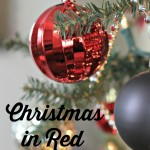 Christmas in Red and Black