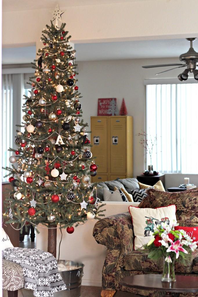 Christmas Home Tour Christmas tree