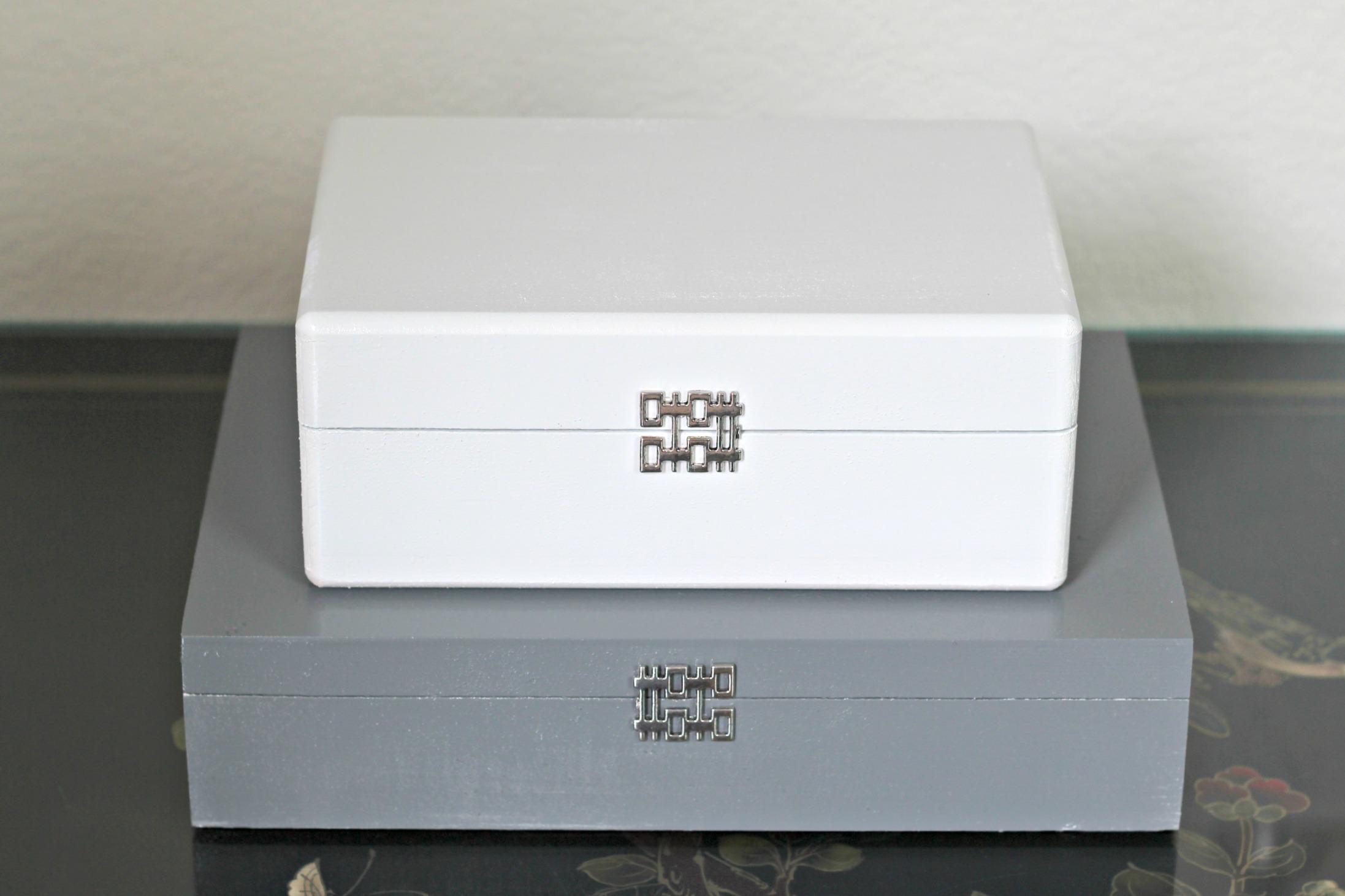 DIY Enamel Painted Boxes 1