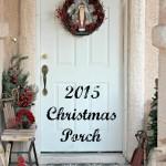 2015 Christmas Porch