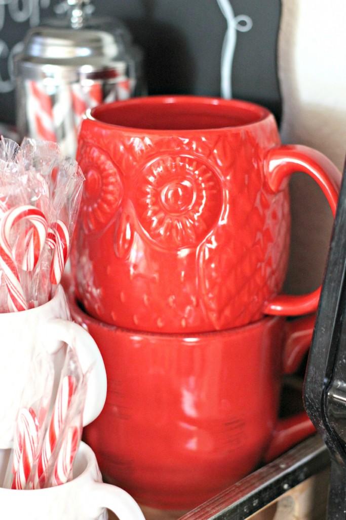 Everyday Cocoa Bar mugs