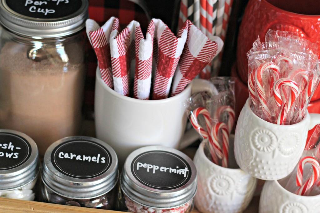 Everyday Cocoa Bar supplies