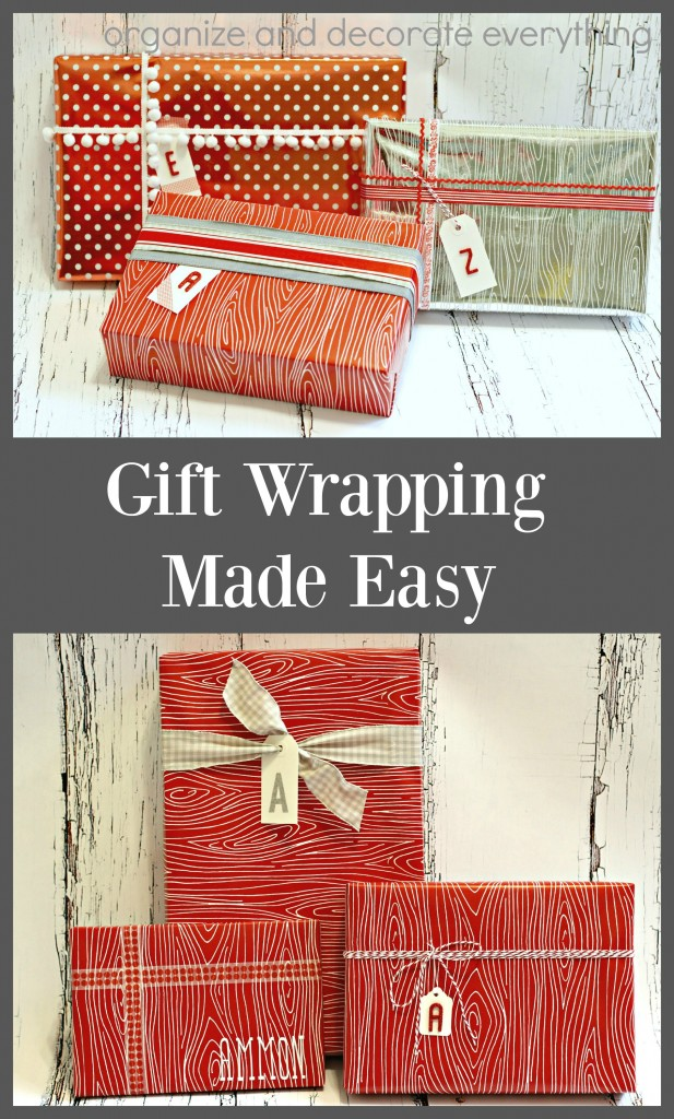 Gift Wrapping Made Easy for those who want pretty packages in less time