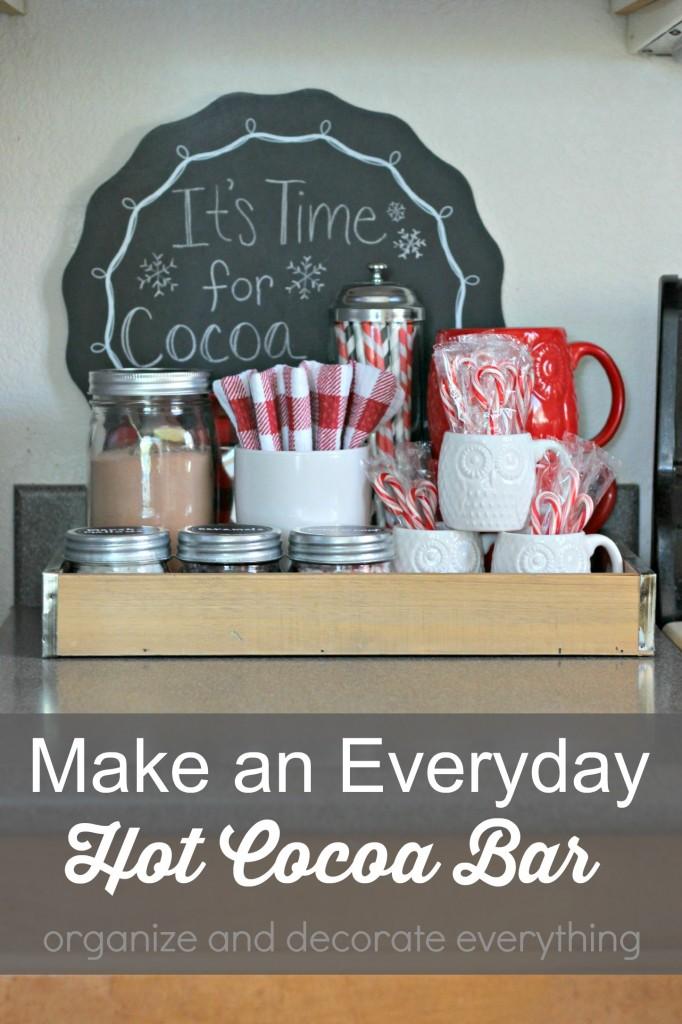 Make an Everyday Hot Cocoa Bar