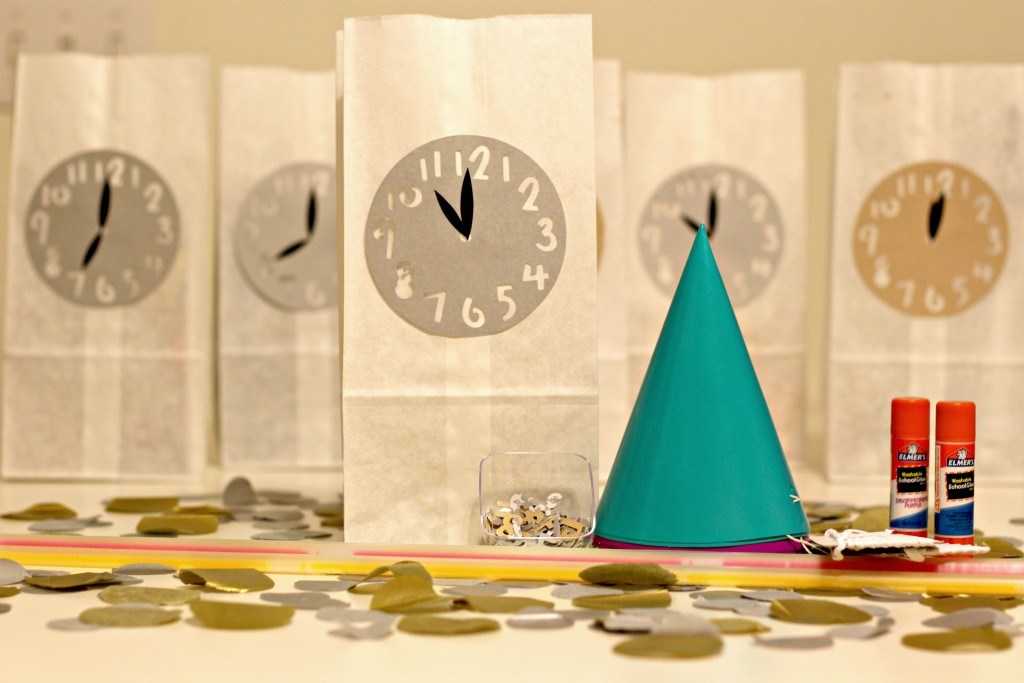 New Years Eve Countdown Bags 11 o' clock