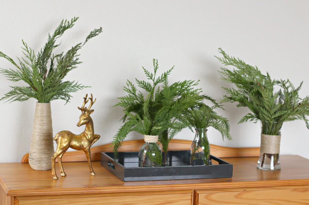 Pine Bough arrangement