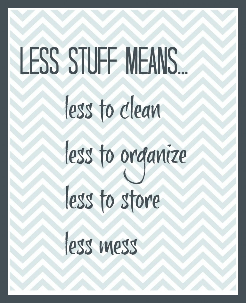 less stuff means printable 2