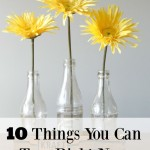 10 Things You Can Toss Right Now