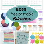 16 Free Printable Calendars for 2016