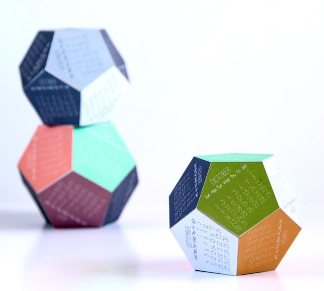 2016 Calendars 3D