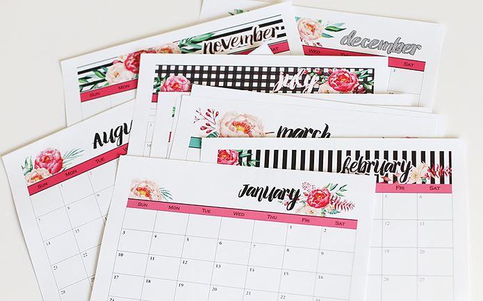 2016 Calendars Blooming Homestead