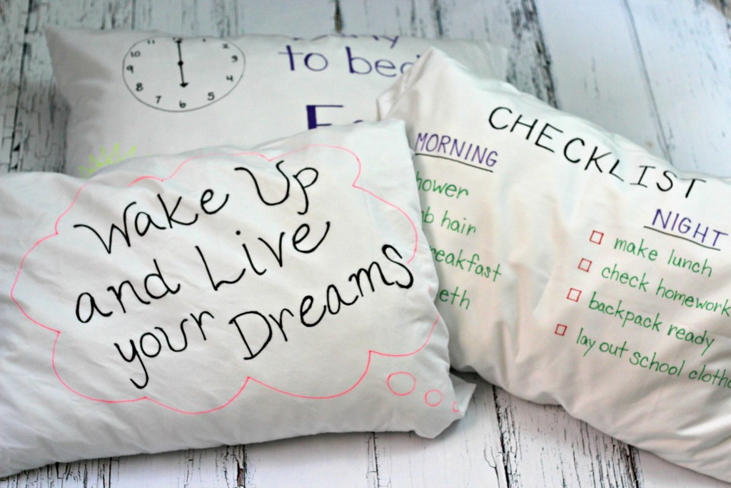 Checklist Pillowcases