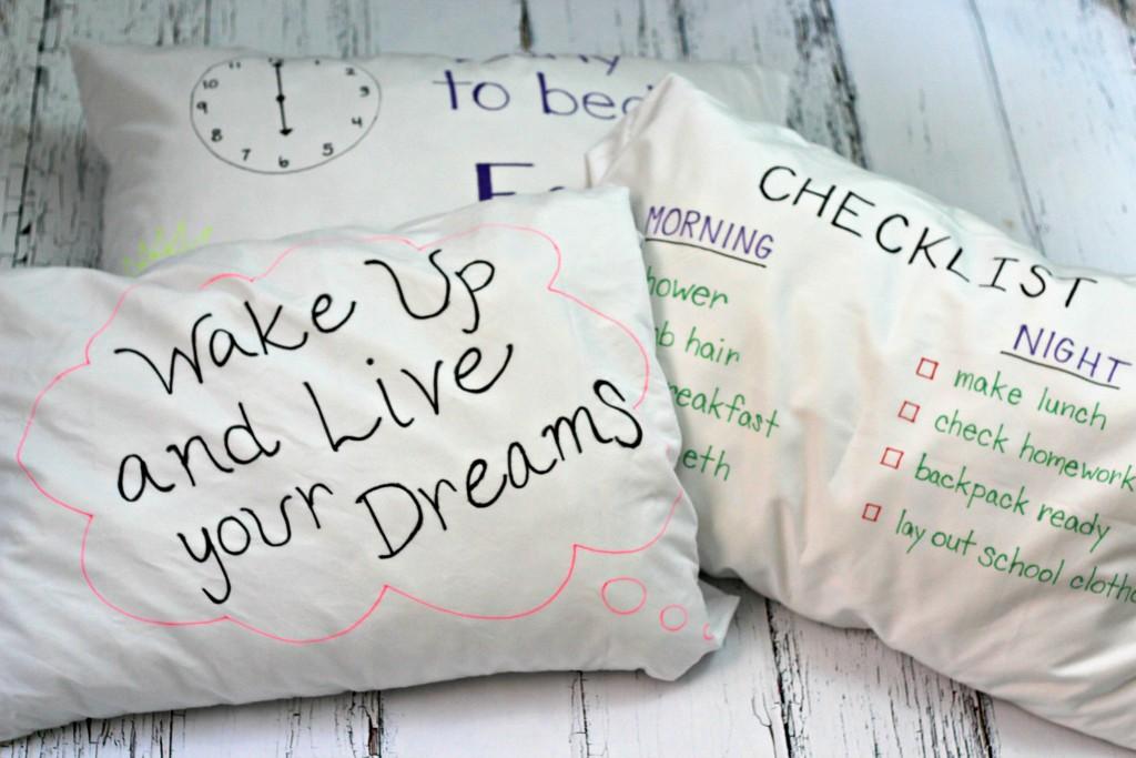 Checklist Pillowcases