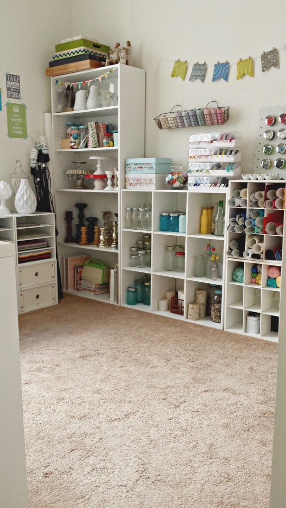 Craft Room Tour Bed Space