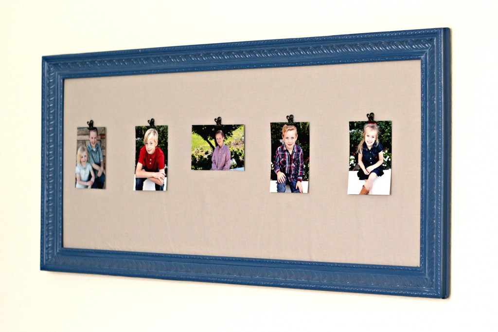 Craft Room Tour Framed Picture Clips
