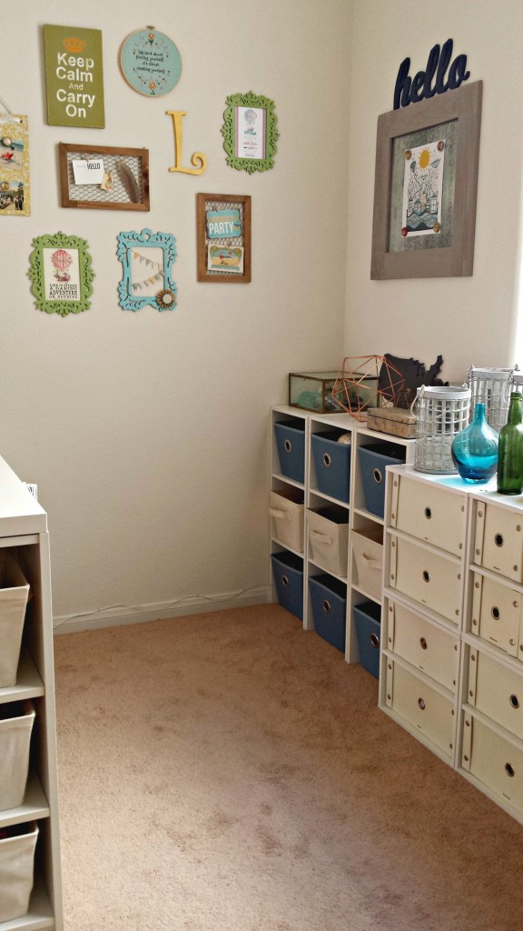Craft Room Tour Space