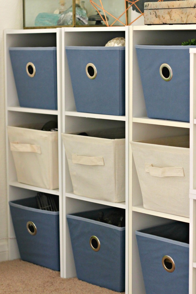 Craft Room Tour Storage Baskets