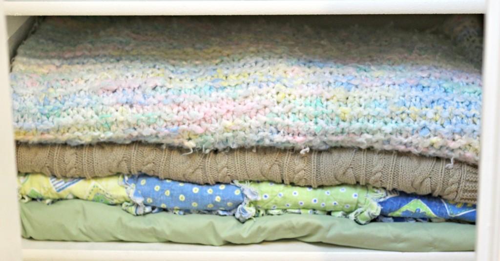 Linen Closet blankets