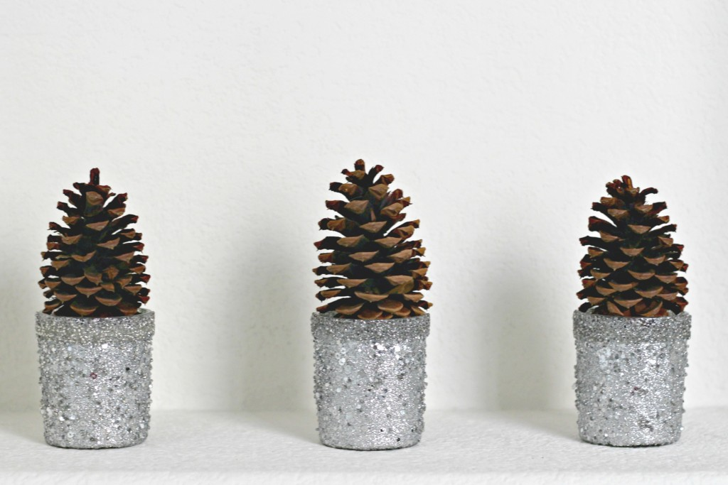 Pinecones Winter Decor