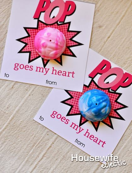 Pop Heart Valentine