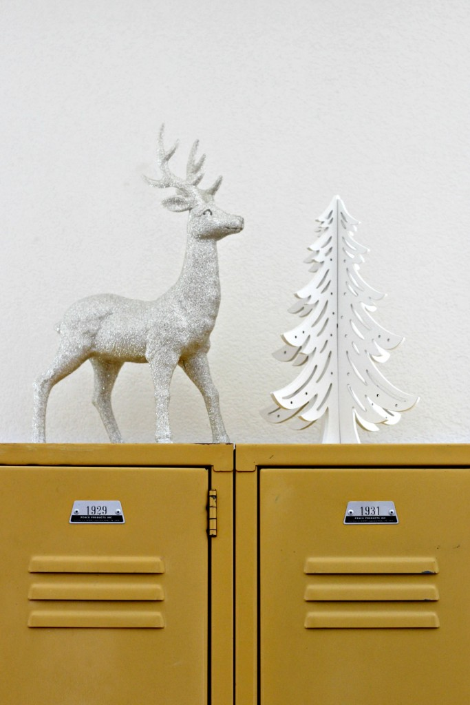 Reindeer and Tree Winter Decor