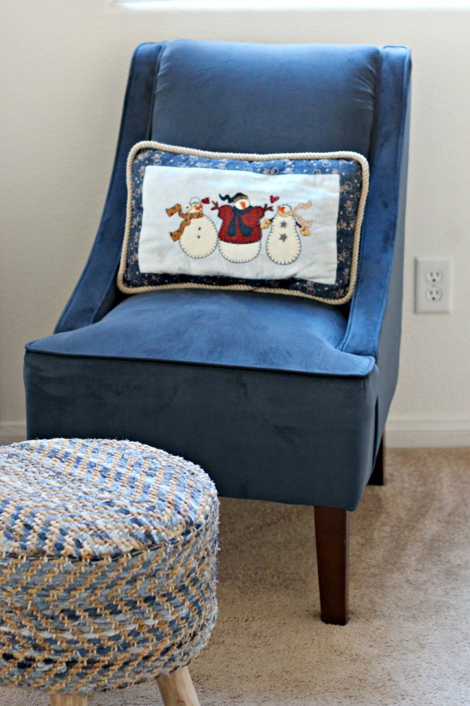 Snowman Pillow Winter Decor