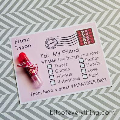 Stamp Valentine