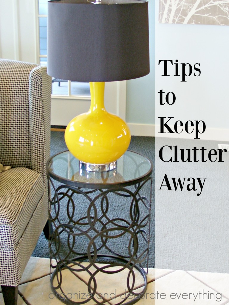 Tips to Keep Clutter Away from Your Home