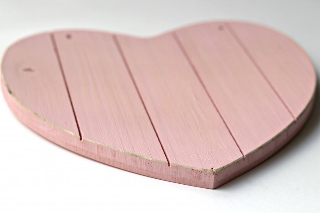 Wood Heart Sanded Edges