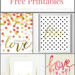 30+ Valentine's Day Printables to Decorate With