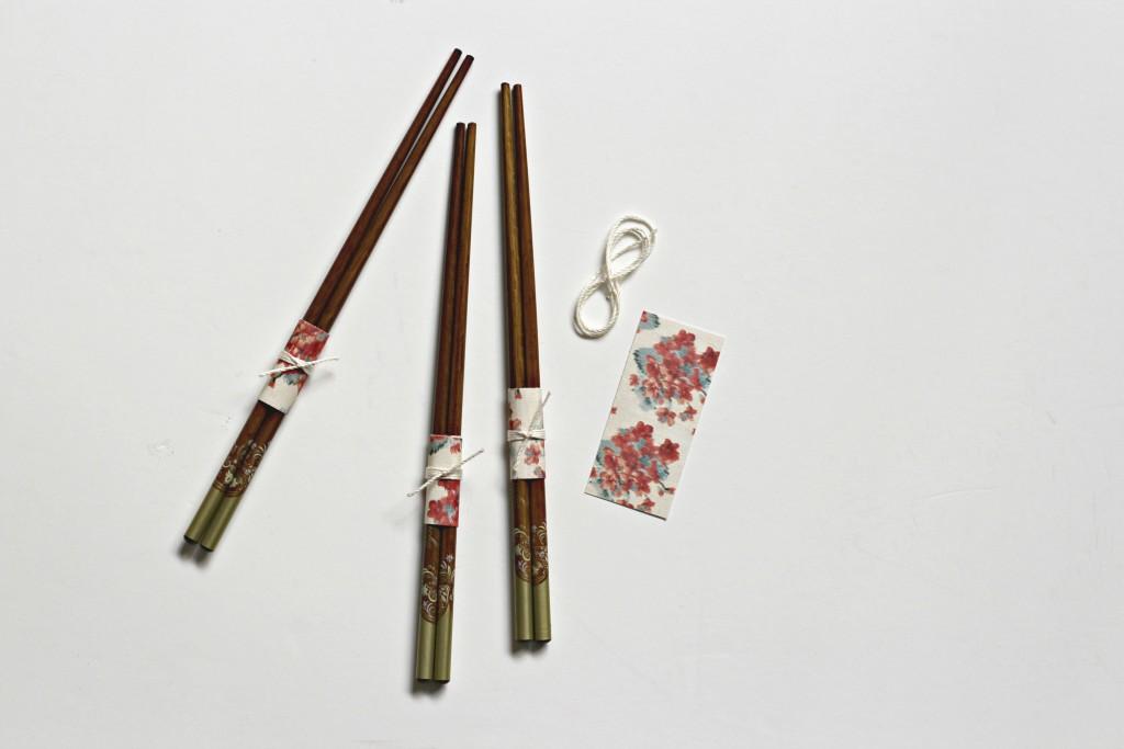 Chop Stick Wrap instructions