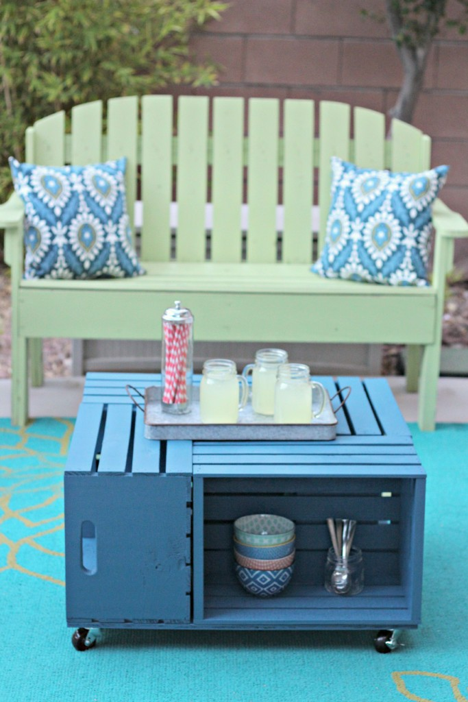 Crate Table setting