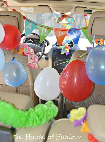 Decorate Inside of Car