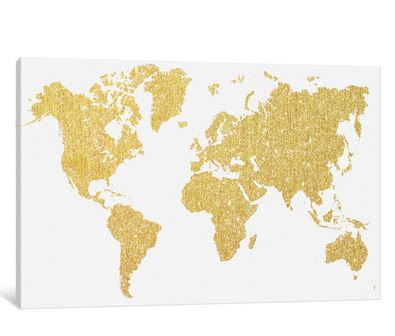 Decorating with Gold map