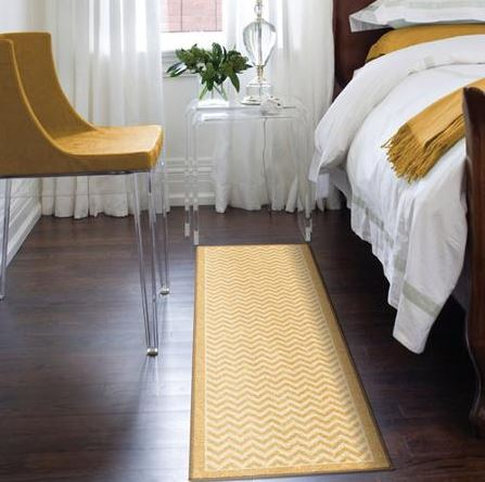 Decorating with Gold rug