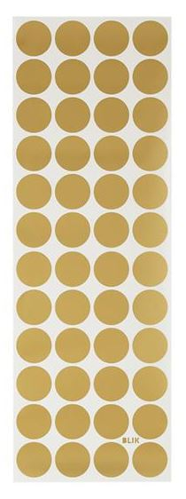 Decorating with Gold wall dots