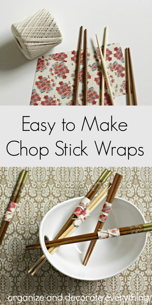 Easy to Make Chop Stick Wraps