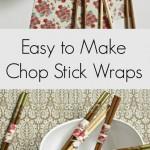 Easy to Make Chop Stick Wraps