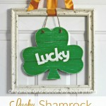 Lucky Shamrock Door Hanging