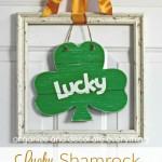 Lucky Shamrock Door Hanging