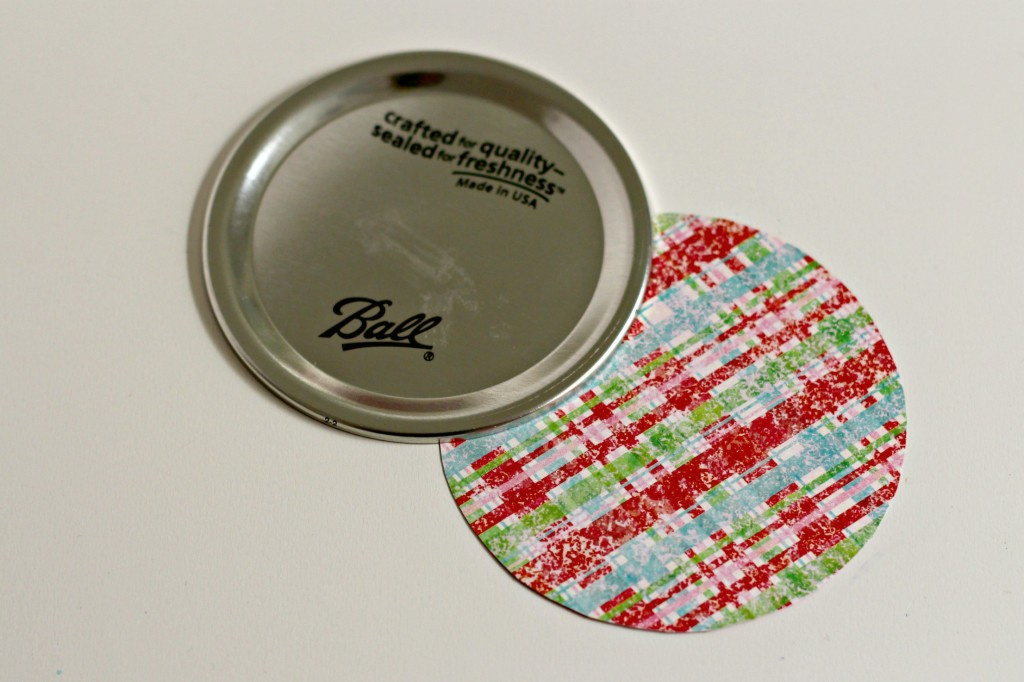 M&M Cookie Bar scrapbook paper lid