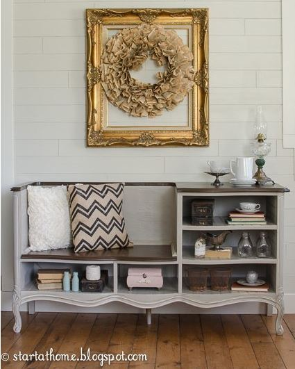 Multi Functional Dresser and Bench
