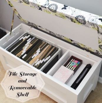 Multi Functional Storage Bench for Files