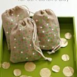 St. Patrick's Day Confetti Bags