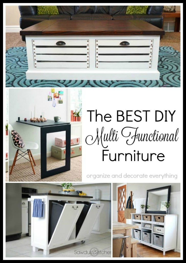 The Best DIY Multi Functional Furniture