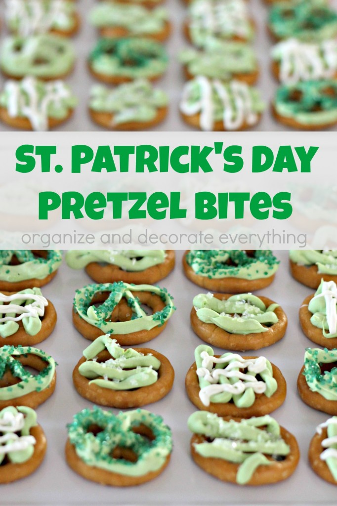 These St. Patrick's Day Pretzel Bites are delicious and so fun to make ...