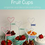 Valentine's Day Fruit Cups
