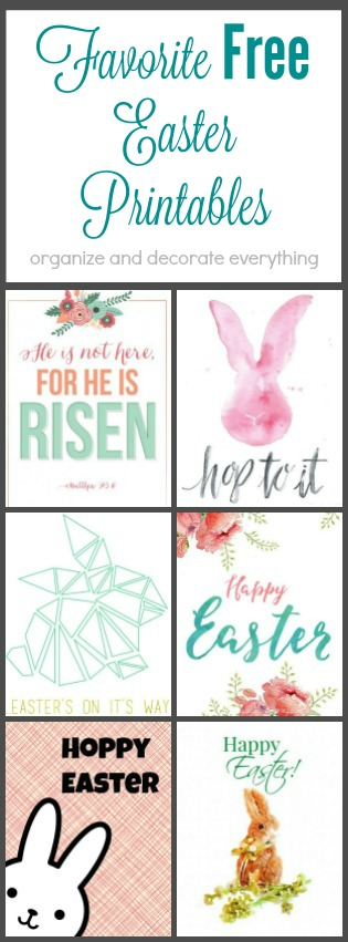 12 of my Favorite Easter Printables ready for framing  Instant decor for your home this holiday